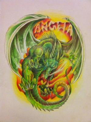 tattoos/ - Custom Dragon Drawing - 60566