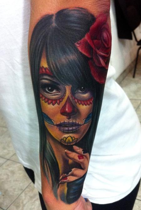 tattoos/ - Day of the dead - 67805