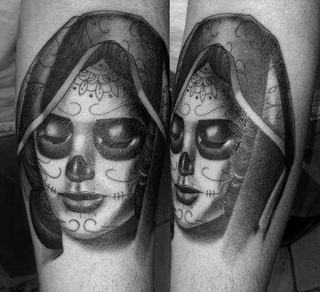 tattoos/ - Day of the dead girl - 96458
