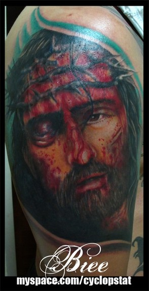 tattoos/ - Christ Tattoo - 52496