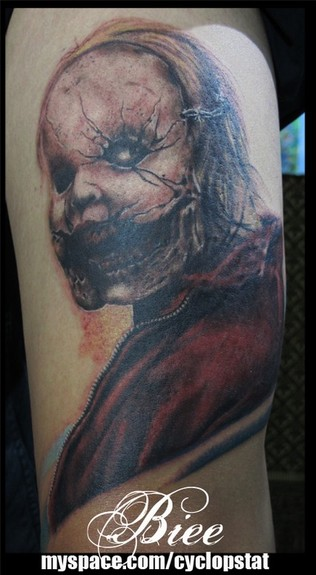 tattoos/ - Evil Mask Tattoo - 52498