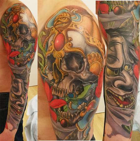tattoos/ - full color japanese sleeve - 84251