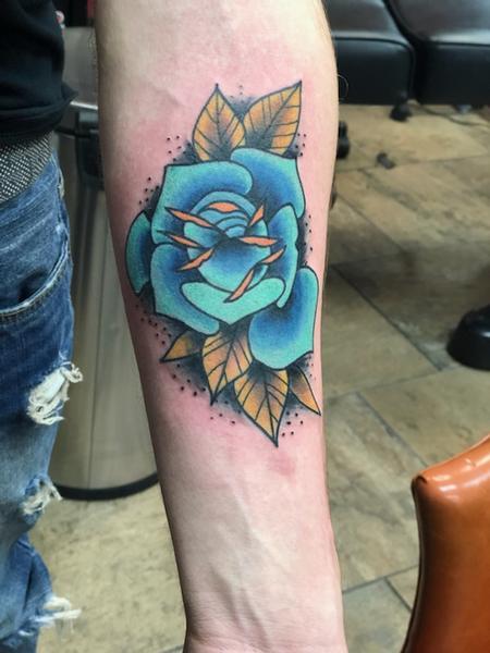 tattoos/ - Blue Rose Tattoo - 141361