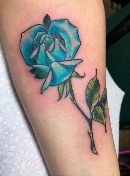 tattoos/ - Blue Rose Tattoo - 141373