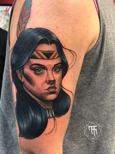 tattoos/ - Native American Portrait - 141359