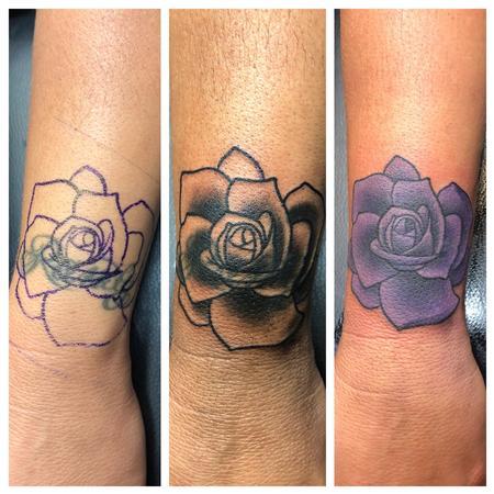 tattoos/ - Rose Coverup Tattoo - 141364