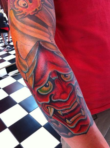 tattoos/ - Hannya Mask Tattoo - 61621