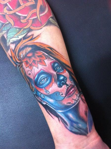 tattoos/ - Day of the Dead Tattoo - 61622