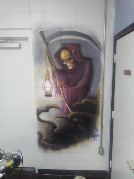 Art Galleries - Grim reaper/ferryman - 123165