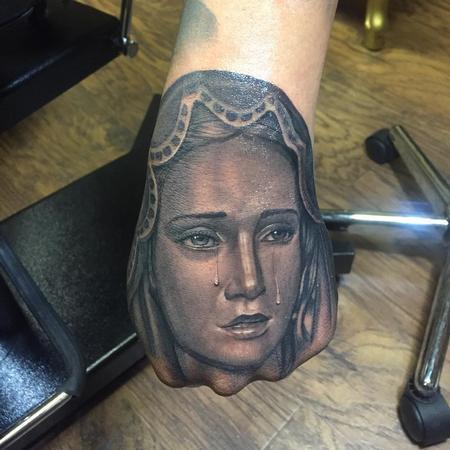 tattoos/ - Virgin Mary Hand - 123437