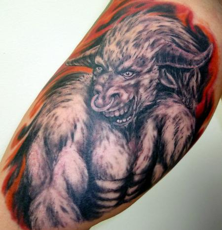 tattoos/ - Taurus Bull - 61588