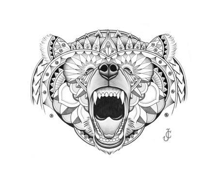 Art Galleries - Bear illustration - 94836
