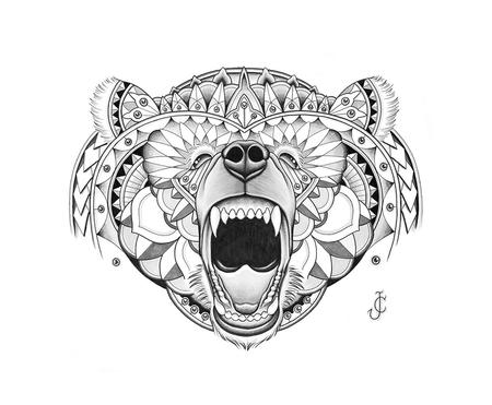 Art Galleries - bear illustration - 94835