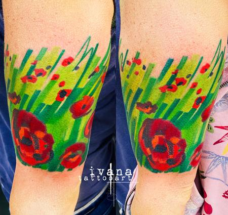tattoos/ - Poppies - 141571
