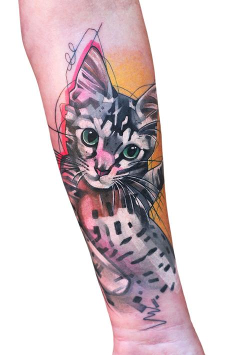 tattoos/ - Kitty Cat Tattoo - 140916