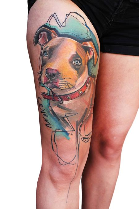 tattoos/ - Dog pet protrait - 138810
