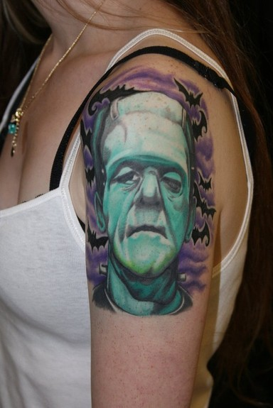 tattoos/ - Frankenstein Tattoo - 49871