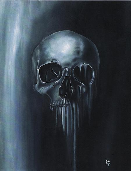 Art Galleries - Melting Skull - 67495