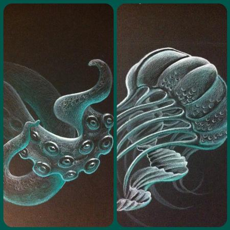 Art Galleries - jellyfish and tentacles - 99656