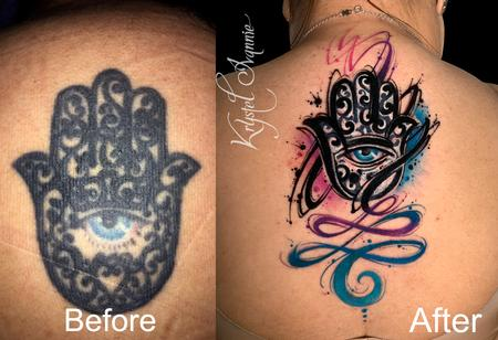 tattoos/ - Hamsa (cover-up and fixer upper) - 140386