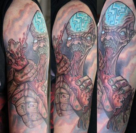 tattoos/ - Zombie half sleeve - 66837