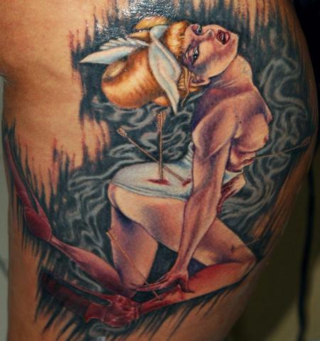 tattoos/ - Reproduction of a pin up - 66835