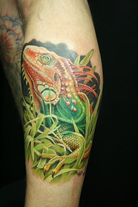 tattoos/ - Lizard - 91536