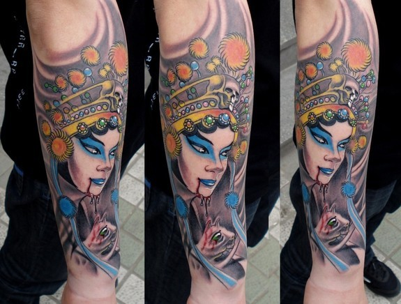 tattoos/ - Asian Rat Lady - 49573