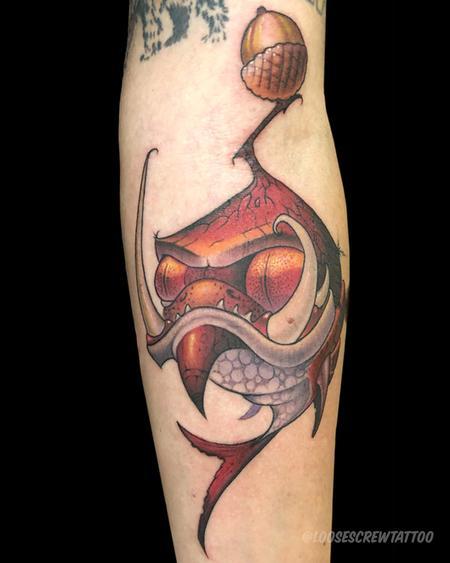 tattoos/ - Acorn Fish - 142153