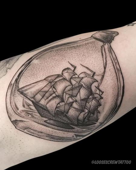 tattoos/ - Ship in a Bottle - 142351