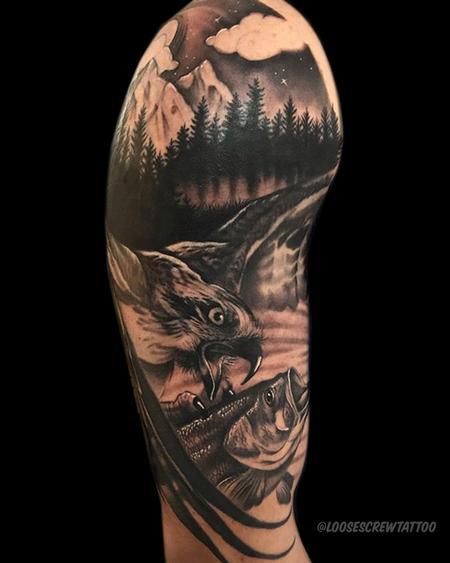 tattoos/ - Hawk Gone Fishing - 142208