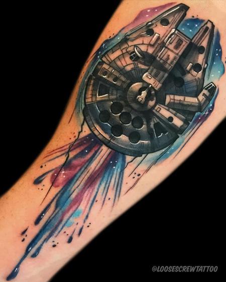 tattoos/ - Millenium Falcon - 142268