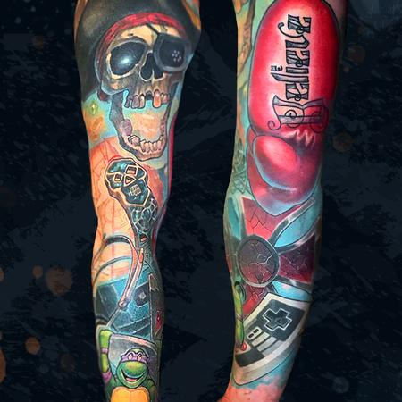 tattoos/ - Throwback Sleeve - 142336
