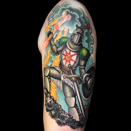tattoos/ - Dark Souls Solaire of Astora - 142361