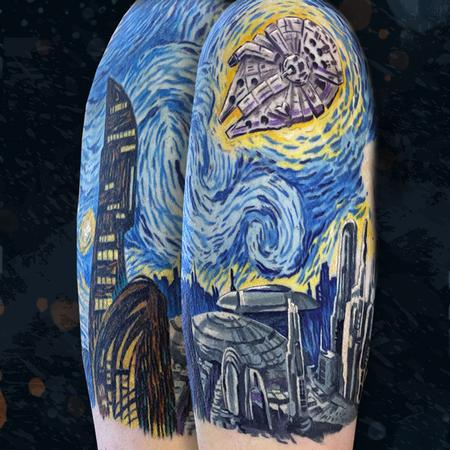 tattoos/ - Starry Wars Night - 142403