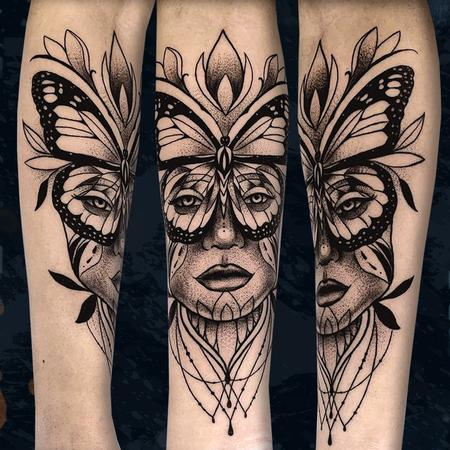 tattoos/ - Butterfly Lady - 142698