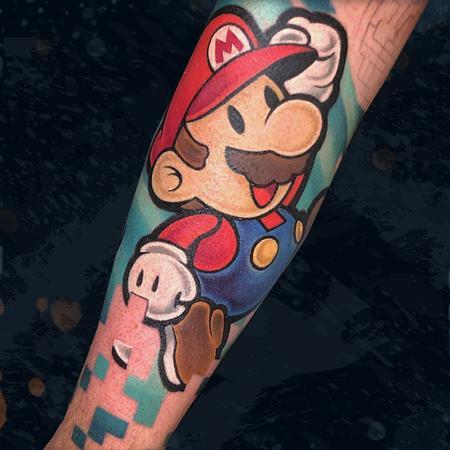 tattoos/ - Mario  - 142702