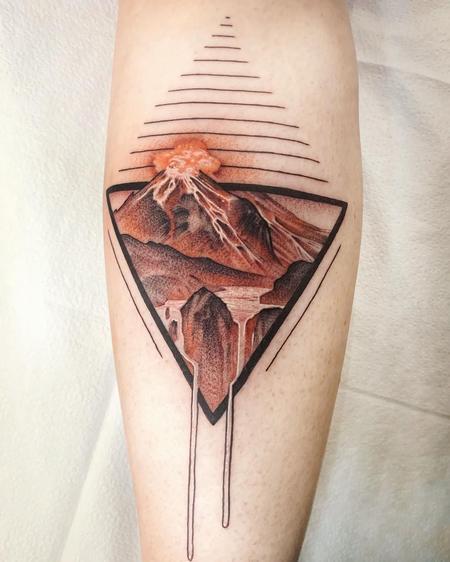 tattoos/ - Volcano  - 142340