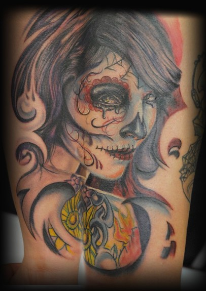 tattoos/ - day of the dead - 49697