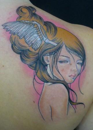 tattoos/ - Custom girl tattoo - 49322