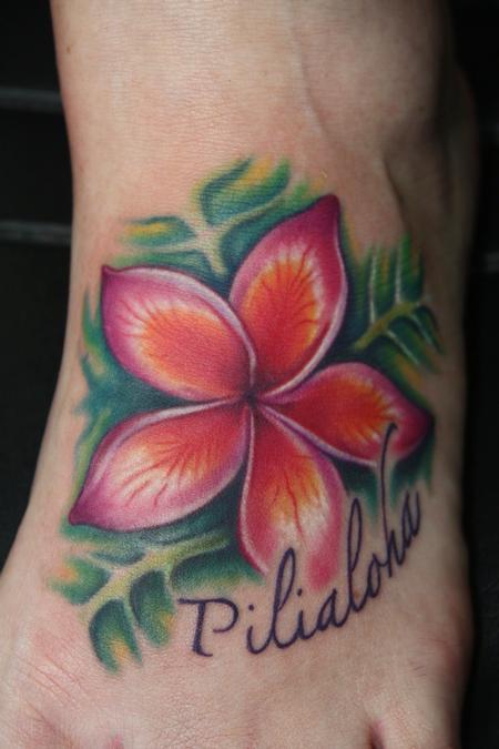 tattoos/ - Plumeria Tattoo - 59647