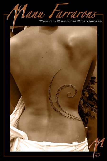 tattoos/ - Thin feminine flow of patterns - 69032