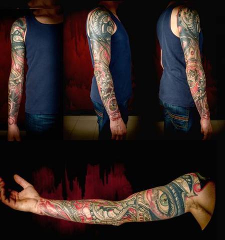 tattoos/ - Full Sleeve - 97796