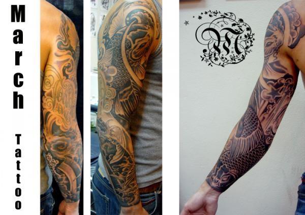 tattoos/ - Koi Fish Tattoo - 51839