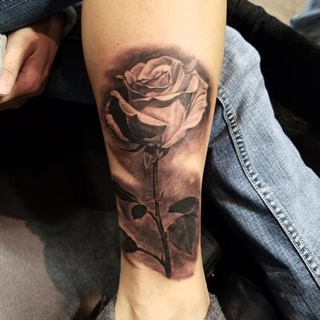tattoos/ - single rose - 123784