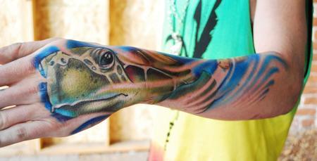 tattoos/ - Sea Turtle - 57363