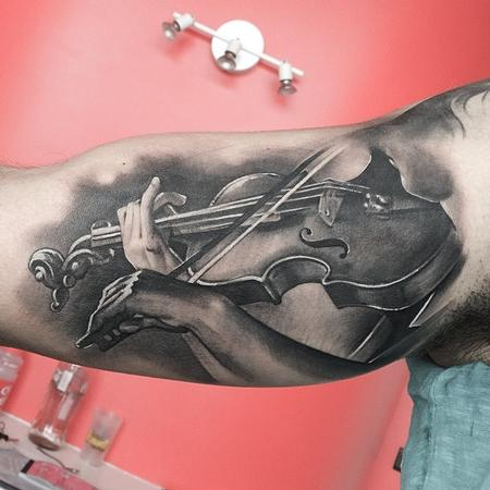 tattoos/ - Violin Tattoo - 113714