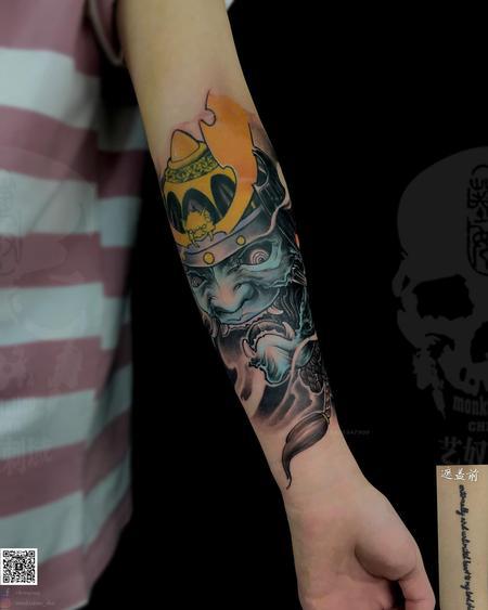 tattoos/ - Asian Demon Tattoo - 140180