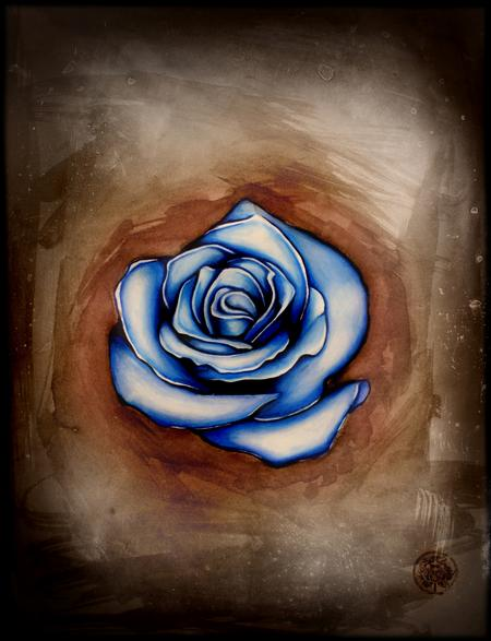 Art Galleries - Mixed media Blose Rose - 69770