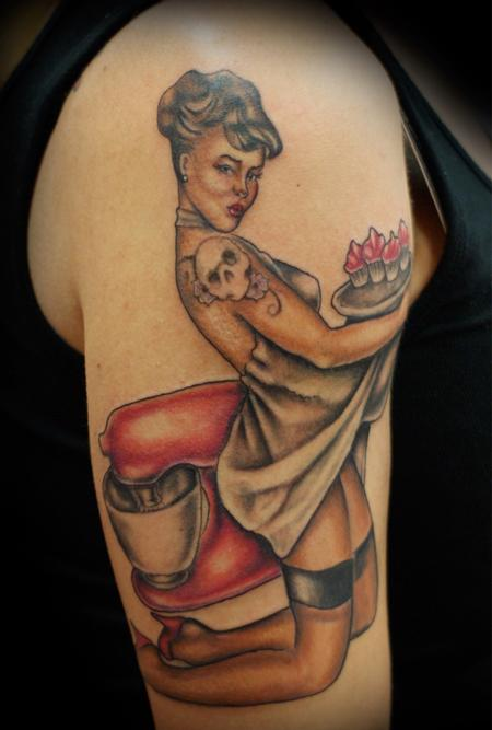tattoos/ - Full color pinup  - 84349